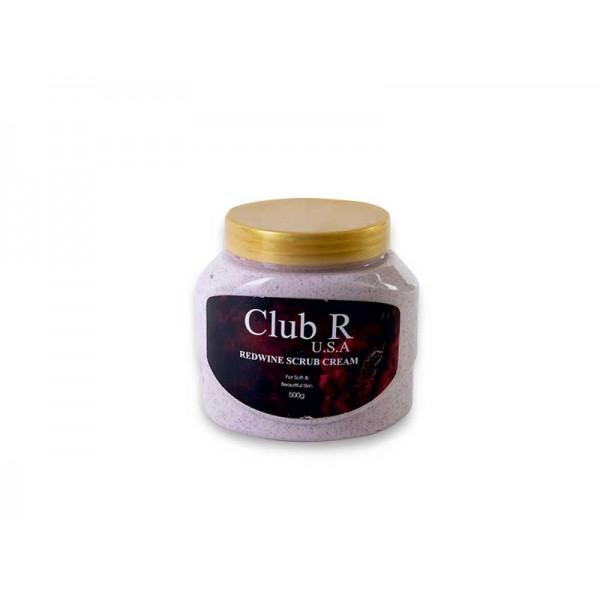 Club R Red Wine Scrub Cream